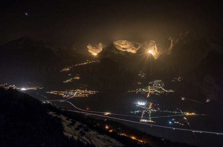 Top 5 Best pictures of illuminated summits