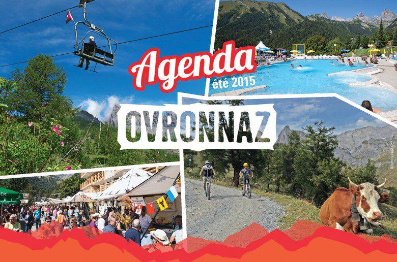 L'agenda de l'été 2015 à Ovronnaz