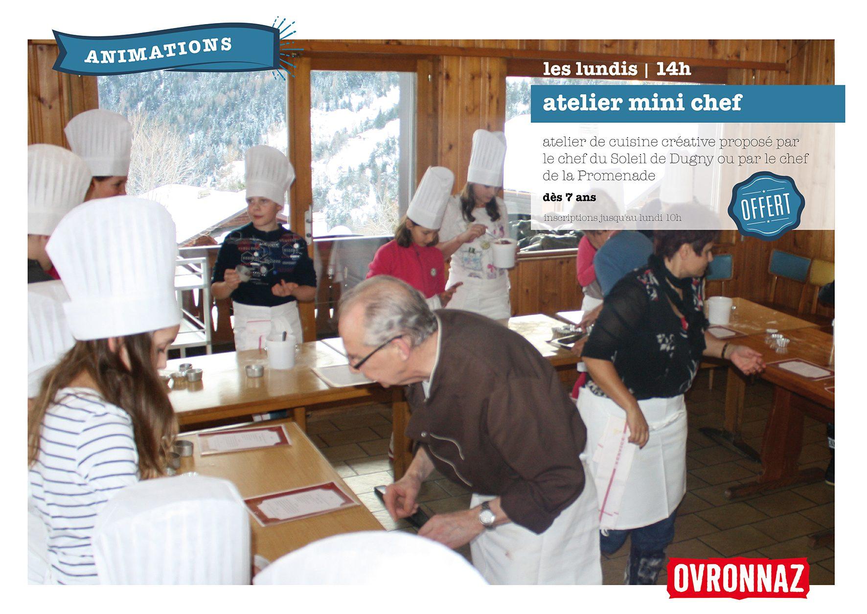 Mini chefs hiver