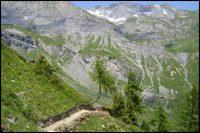 Sentier Jorasse-Rambert