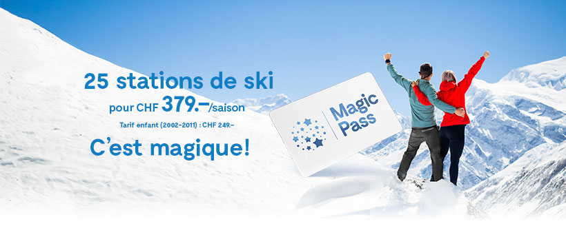Ski im Ovronnaz mit Magic Pass