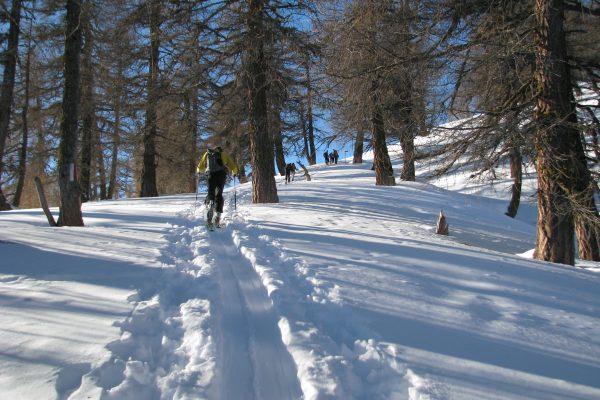 Ski de randonnée à Grand Garde