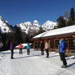 Yoga neige à Tourbillon