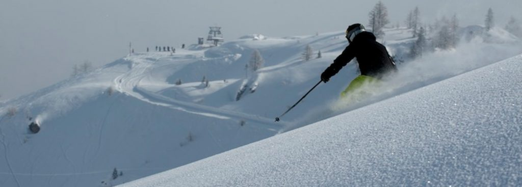 Slide_ski blanc