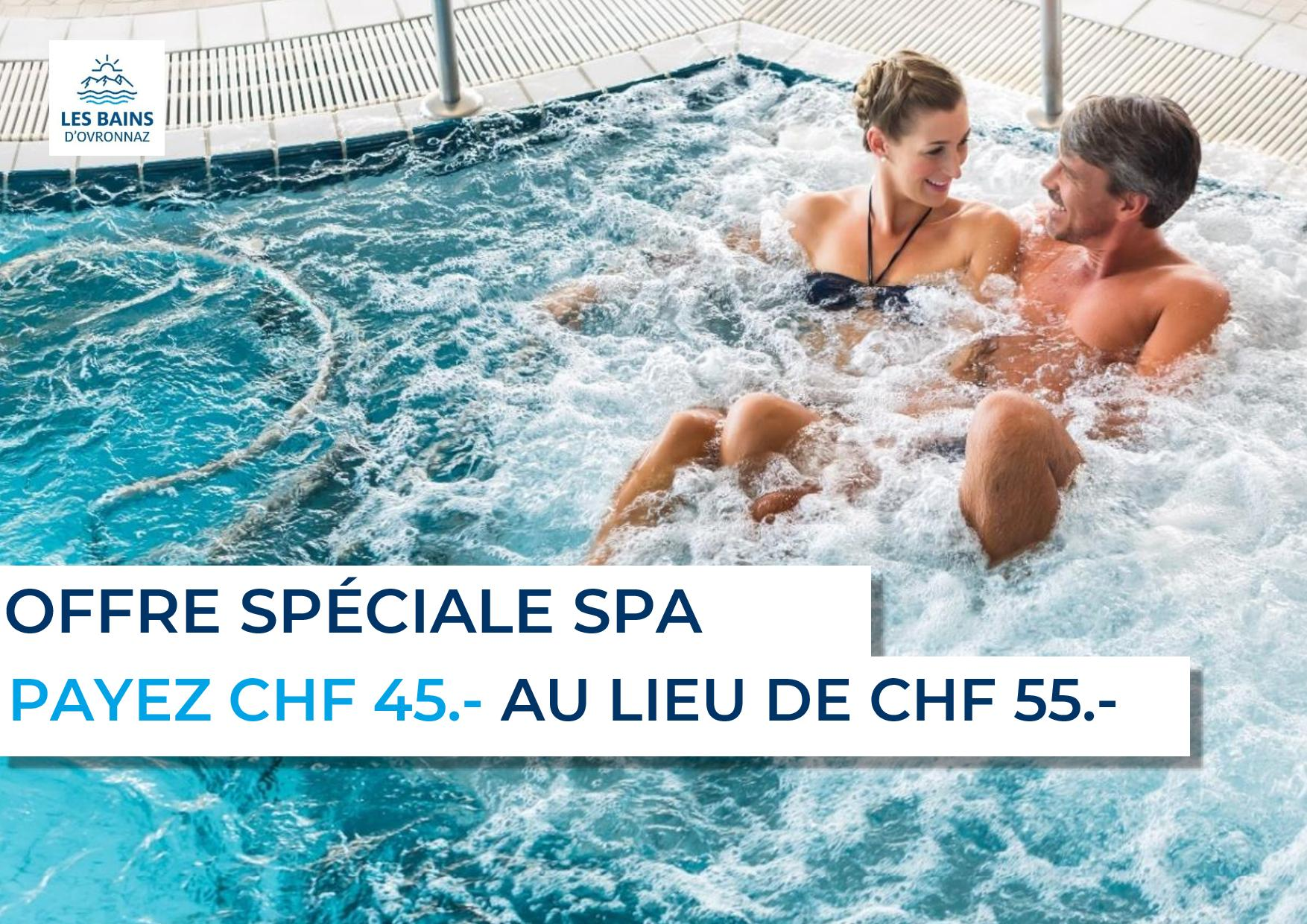 Offre spéciale Spa
