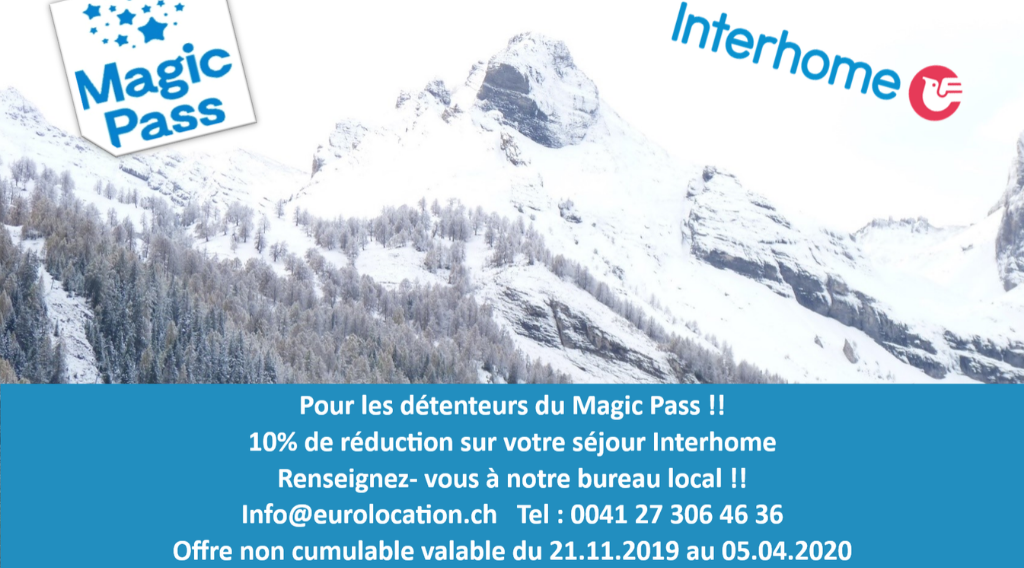 Magic Pass – Interhome