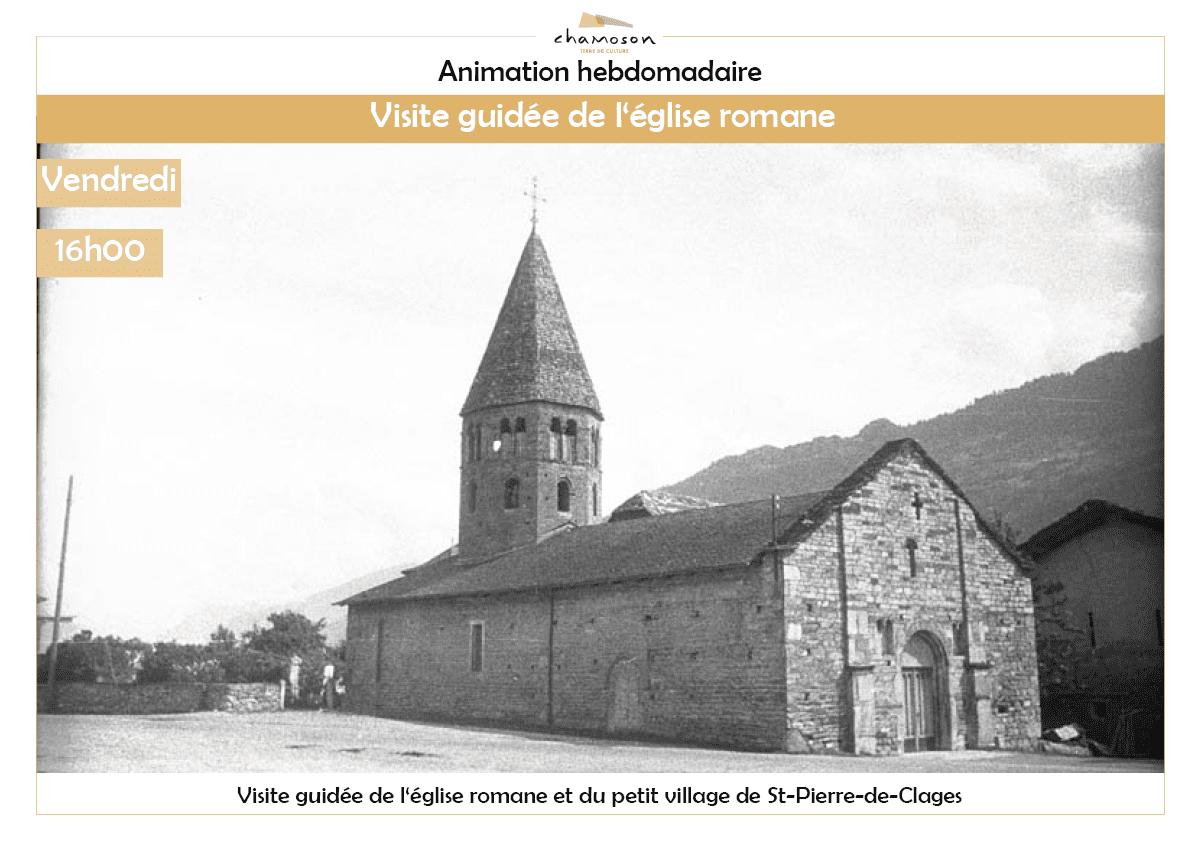 Visite guidée de l'église romane