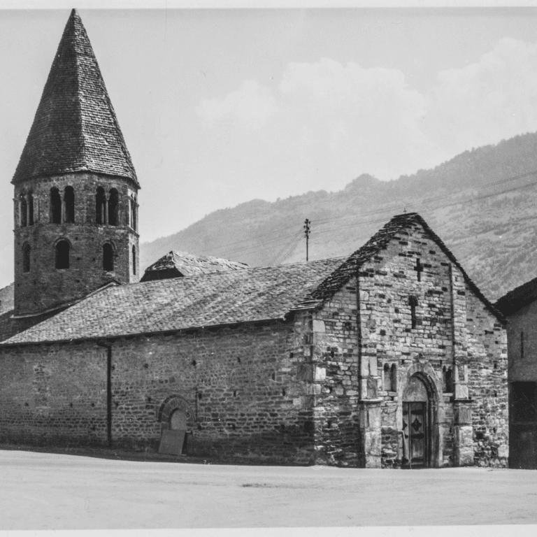 Visite de l'église romane