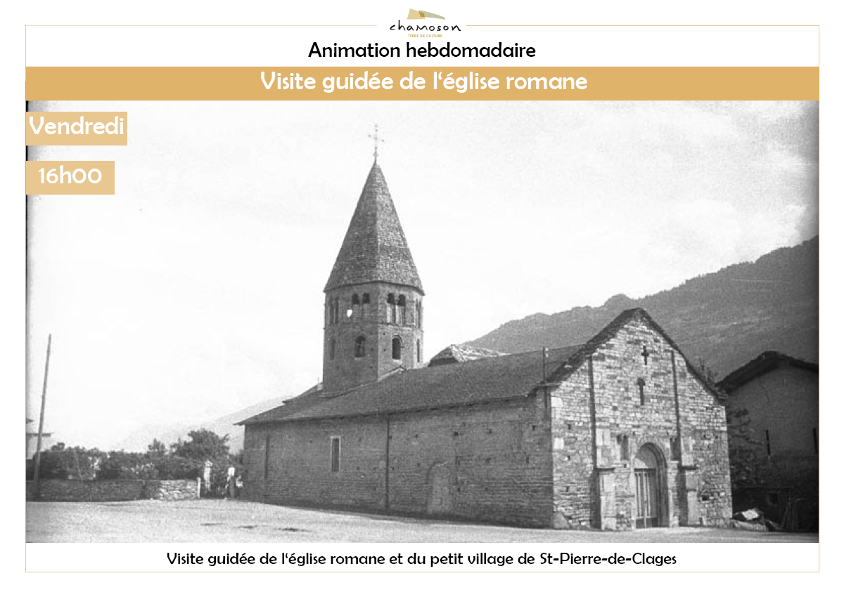 Guided tour of the Romanesque church