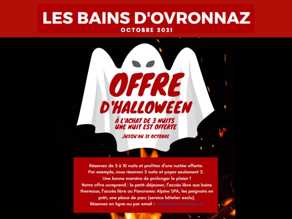 Offre d'Halloween